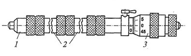 Микрометрический нутромер