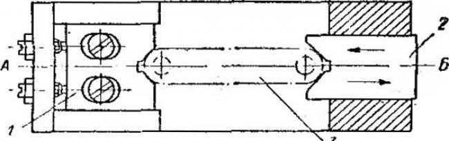 Схема ориентирования детали